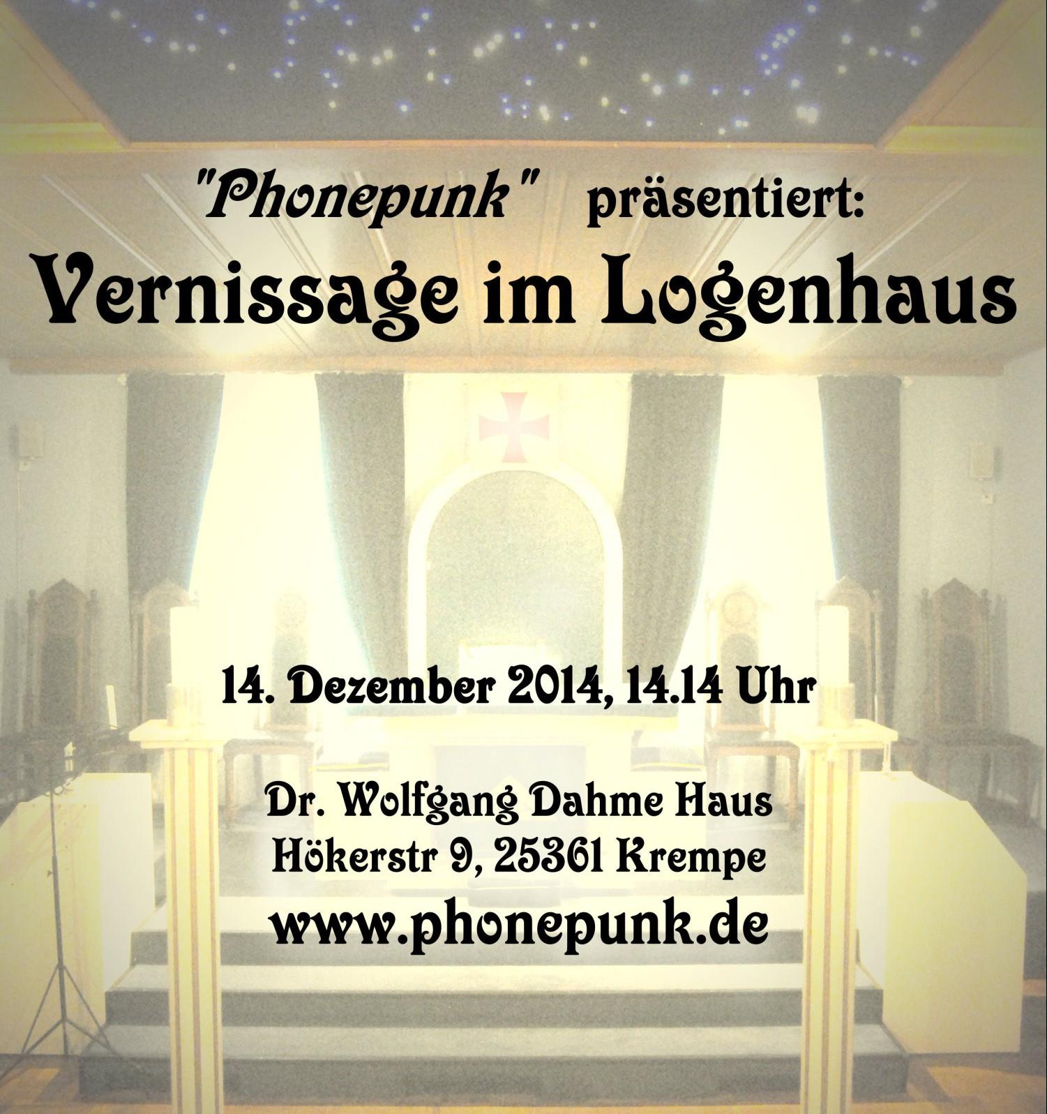 Vernisage im Logenhaus 2014